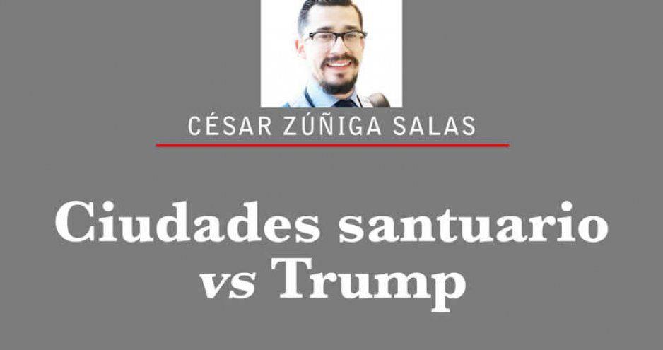 Ciudades santuario vs Trump