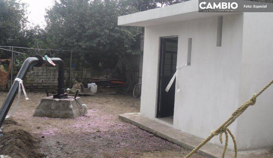 Boicotean pagos de agua potable en Santa María Moyotzingo, Texmelucan