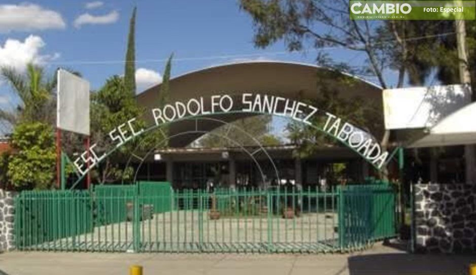 Enfermo mental se mete a robar a la Secundaria Rodolfo Sánchez Taboada de Izúcar