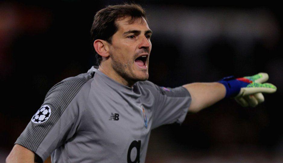 A dos meses de sufrir un infarto Iker Casillas regresa a los entrenamientos con el Porto