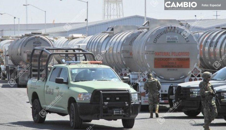 Gobierno federal intensifica lucha contra huachigaseros: arresta 23 en una semana
