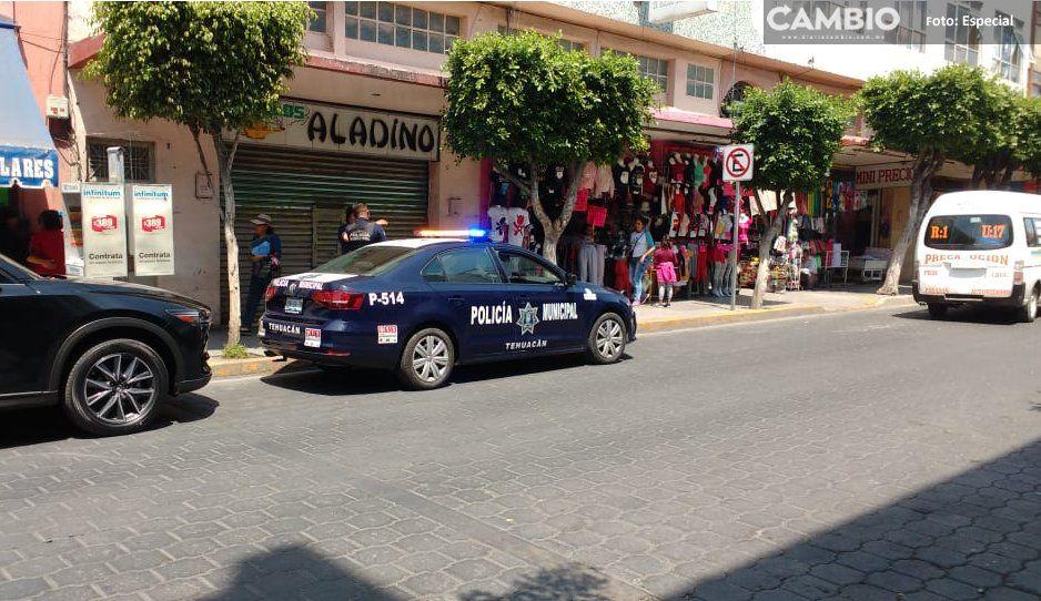 ¡En tan sólo un día asaltan seis negocios en Tehuacán!