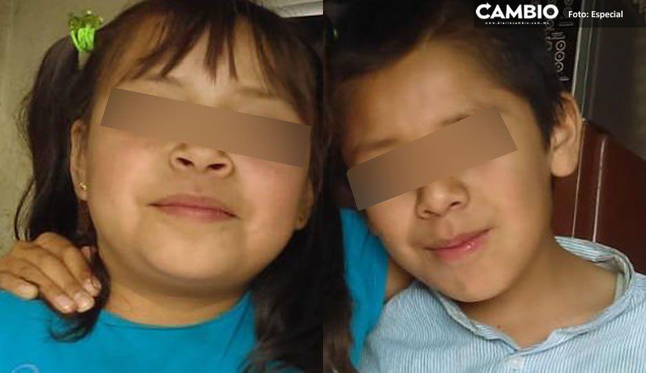 Localizan a los pequeños María Liliana de 9 años y Luis Felipe de 11 años