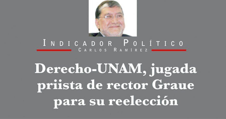 Derecho-UNAM, jugada priista de rector Graue para su reelección
