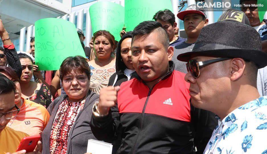 Tras manifestaciones, liberan a líder de comerciantes del mercado Morelos (FOTOS y VIDEO)