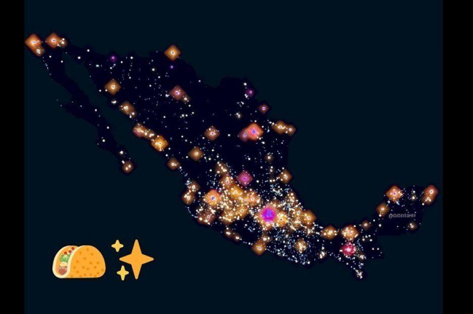 Taquitos desde el espacio: así se ven desde el cielo las taquerías en México (VIDEO)