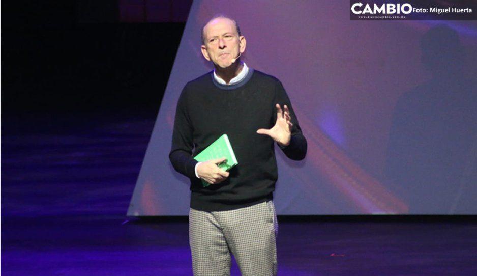 William Sieghart relata sobre el poder curativo de la poesía en a la CDI 2019 (VIDEO)