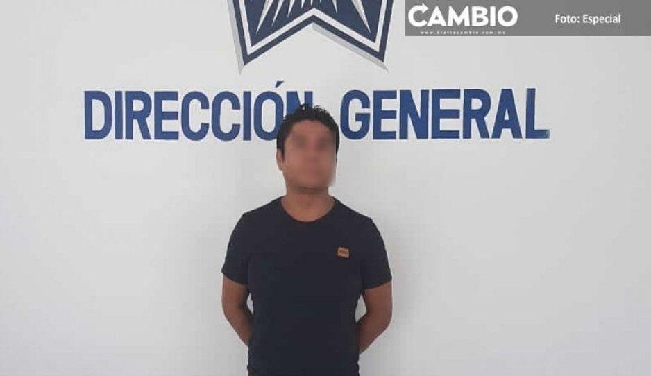 Cae El Chucky, líder de la peligrosa banda Las Bigotonas en Tehuacán