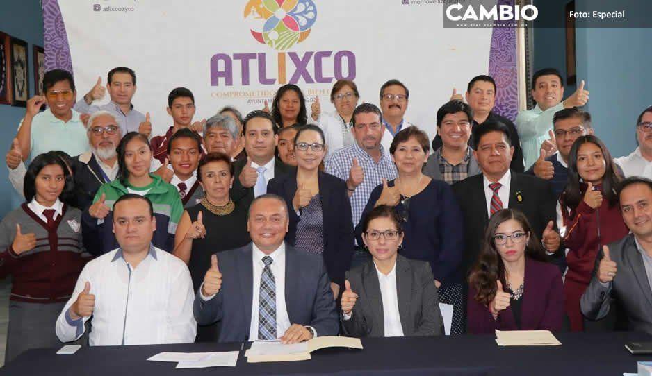 Atlixco instala Consejo de Población y Comité de Prevención del Embarazo en Adolescentes