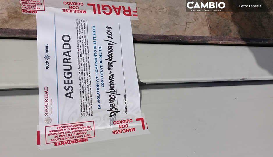 Aseguran gasera de Huejotzingo tras operativo de Policía Federal