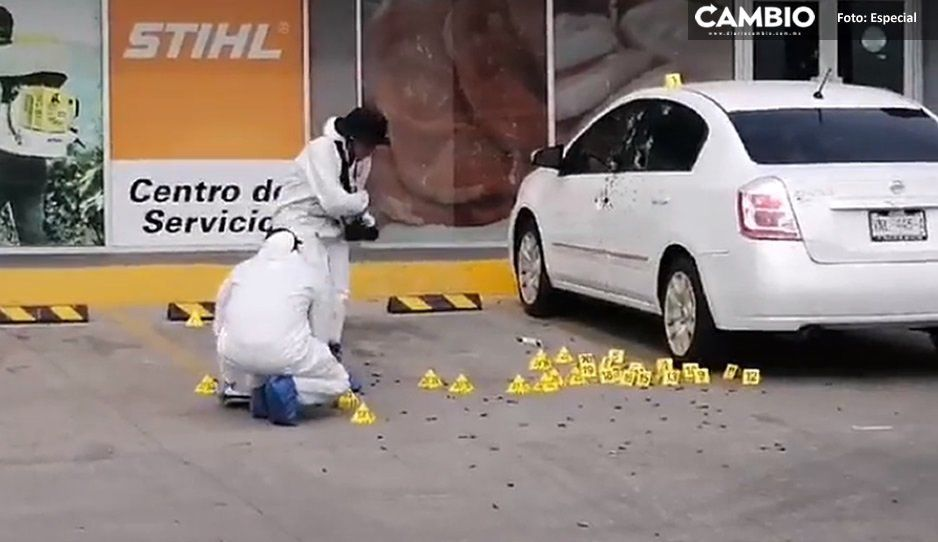 Con cuerno de chivo y R15 ejecutan de 100 balazos a policía que participó en operativo vs el Chapito (VIDEO)