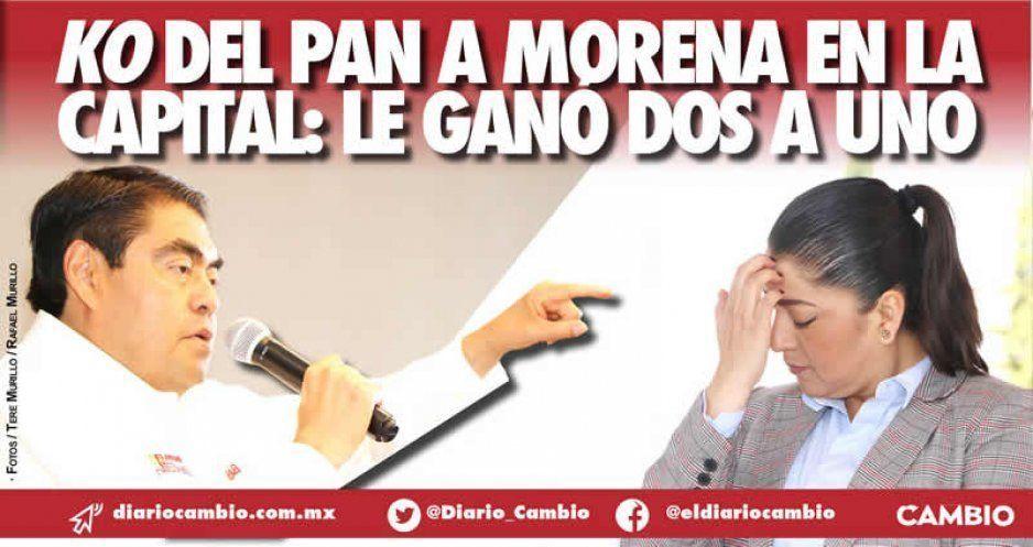 KO del PAN a Morena en la capital: le ganó dos a uno