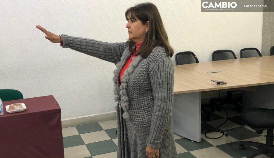 Cabildo de Texmelucan nombra a María  Isabel García nueva tesorera municipal