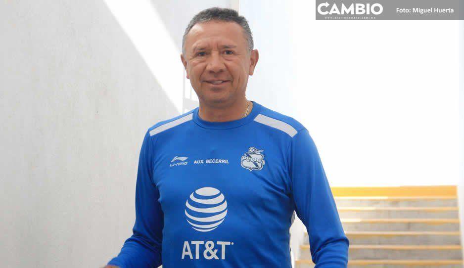 Becerril y Joaquín Velázquez dirigirán al Puebla ante Cruz Azul