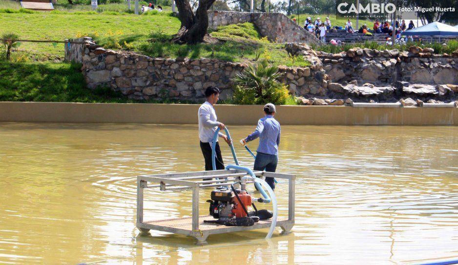Ahora quieren que Playa Amalucan se llene con agua de lluvia para no gastar
