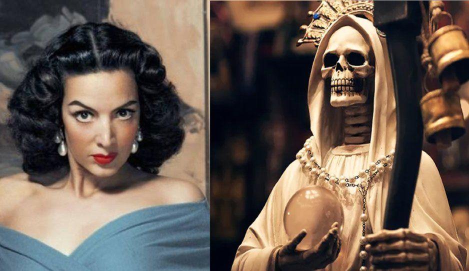 Satánica y seguidora de la Santa Muerte: Estos son los oscuros secretos de María Felix (VIDEO)