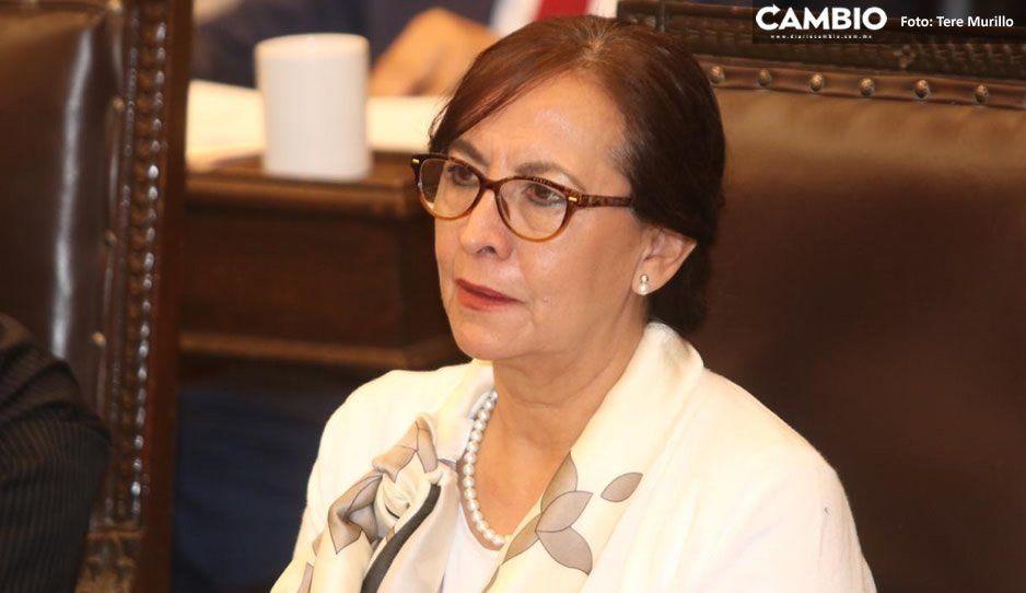 García Olmedo evita criticar a quienes han traicionado al PRI al sumarse a la campaña de Barbosa