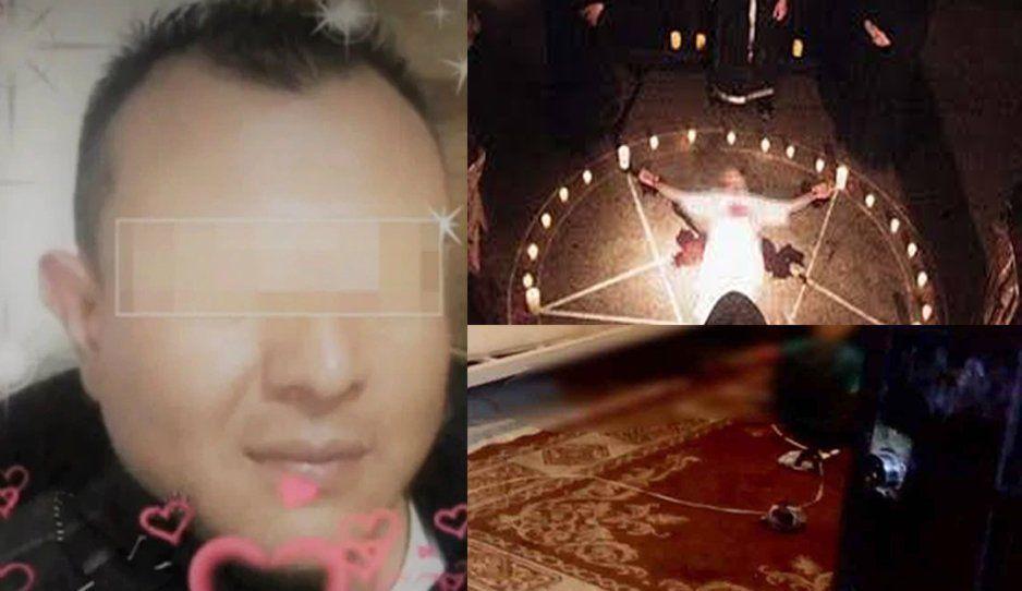 Ex policía asesina, descuartiza y embolsa a su novia en ritual satánico