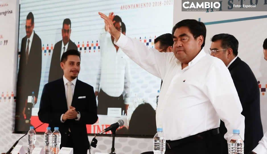 Advierte Miguel Barbosa en Tepeaca que va con todo contra los grupos criminales