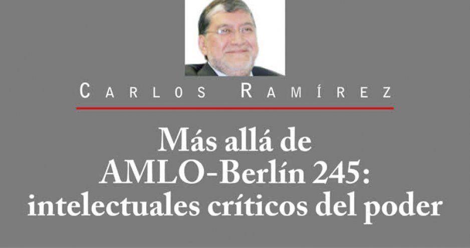 Más allá de AMLO-Berlín 245: intelectuales críticos del poder