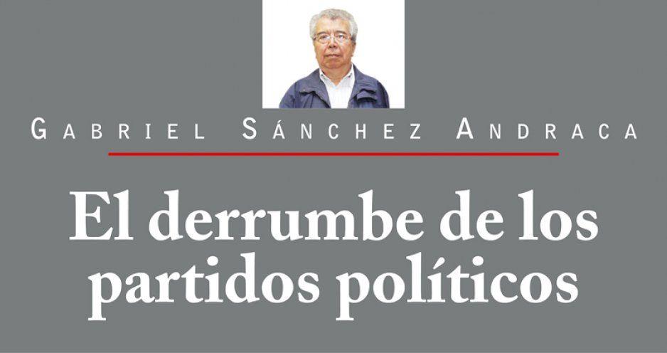 El derrumbe de los partidos políticos