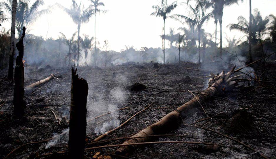 Región del Amazonas cumple 16 días de incendio #PrayForAmazonia