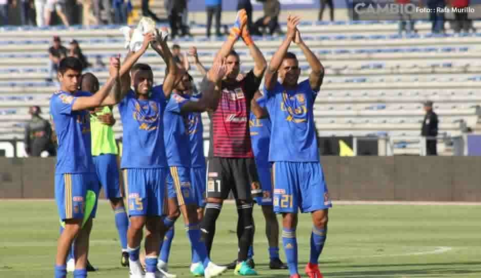 Lobos BUAP sufre otro descalabro, cae 0-3 vs Tigres