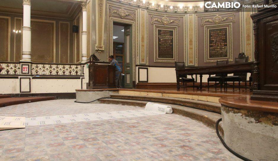 Posponen licitación de remodelación  del Congreso para el 6 de diciembre