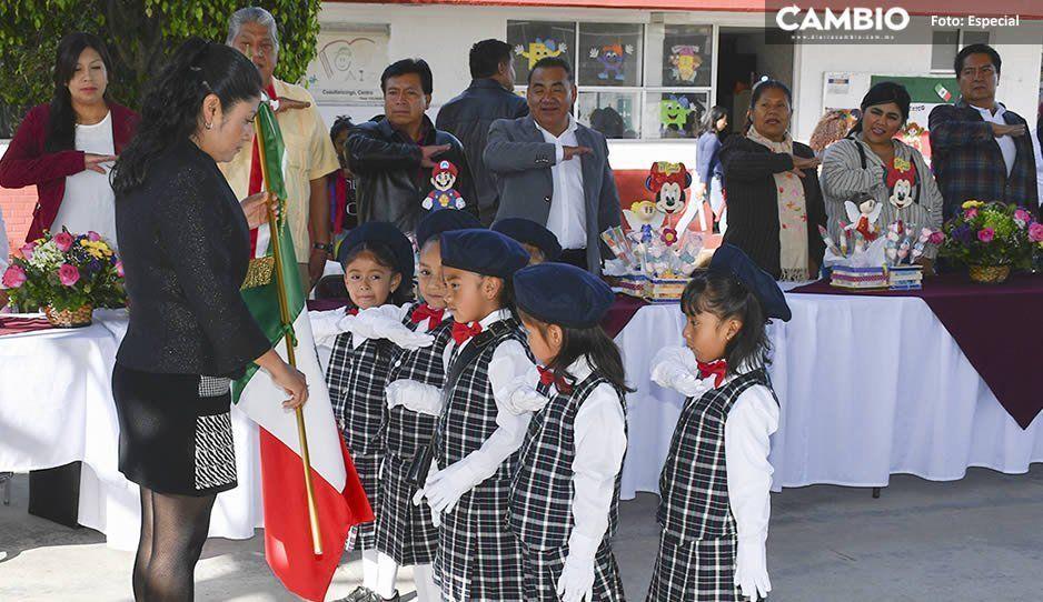Ayuntamiento de Cuautlancingo rehabilitó 12 Centros de Asistencia Infantil en beneficio de mil 396 niños
