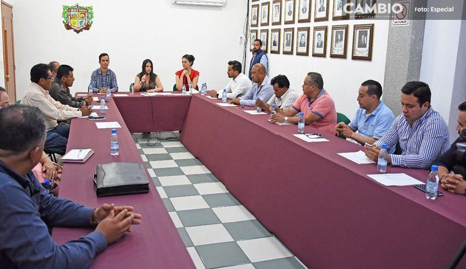 Ayuntamiento de Texmelucan busca propuestas para el ordenamiento del comercio informal