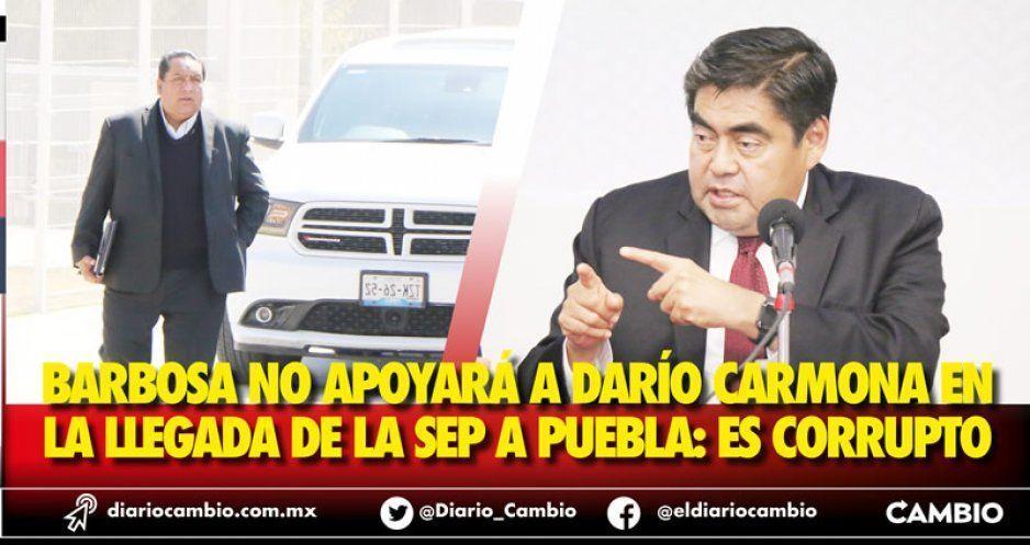 Barbosa exige a Moctezuma separar a Darío Carmona: no trataré con un corrupto (VIDEO)