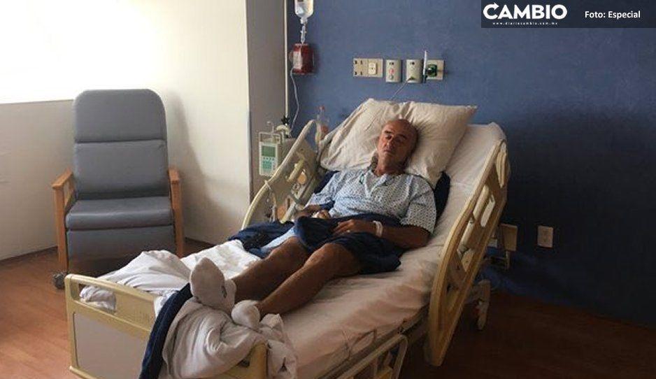 Hospitalizan al Chelís por ataque de neumonía