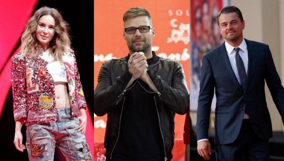 Belinda, Ricky Martin, Leonardo DiCaprio y más famosos alzan la voz por los incendios del Amazonas