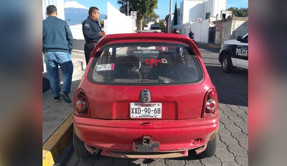 Policía municipal detiene a ladrón de camiones de gas en Atlixco