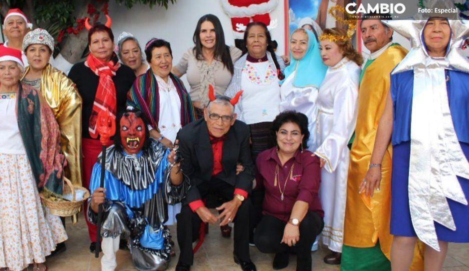 Celebra DIF de San Martín Texmelucan actividades decembrinas en estancia de día