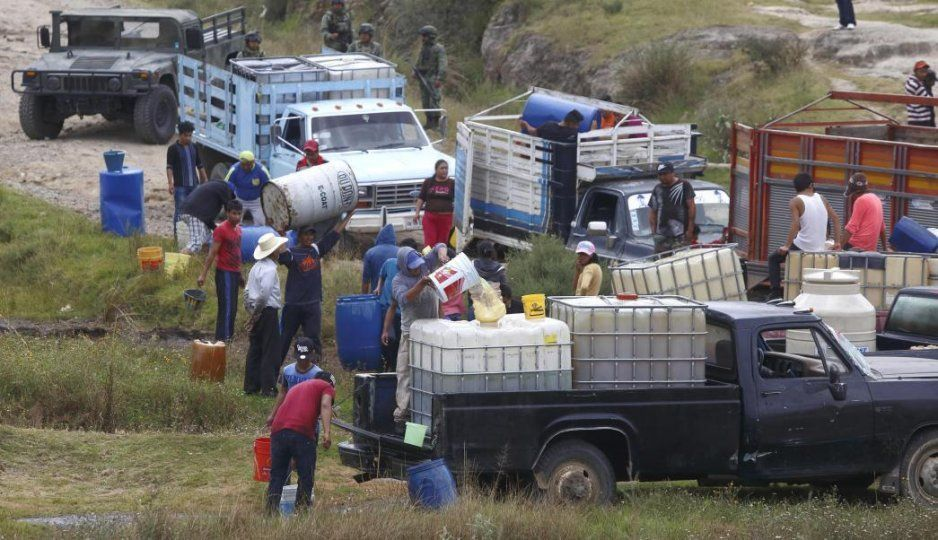 Puebla 1er estado en tomas clandestinas y Texmelucan lidera incidentes de Pemex