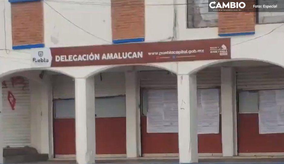 Lo que faltaba: atracan módulo de Tesorería  de Amalucan y se llevan los impuestos