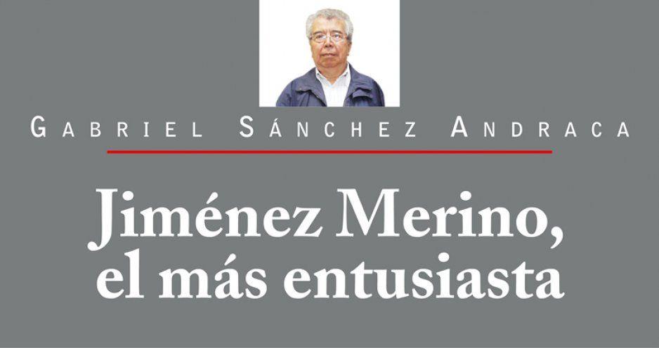 Jiménez Merino, el más entusiasta