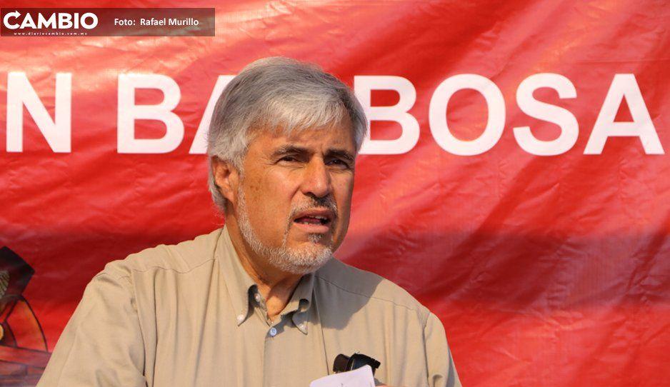 Apoyo del senador Narro a Barbosa desnuda el apoyo fake que presumió Armenta