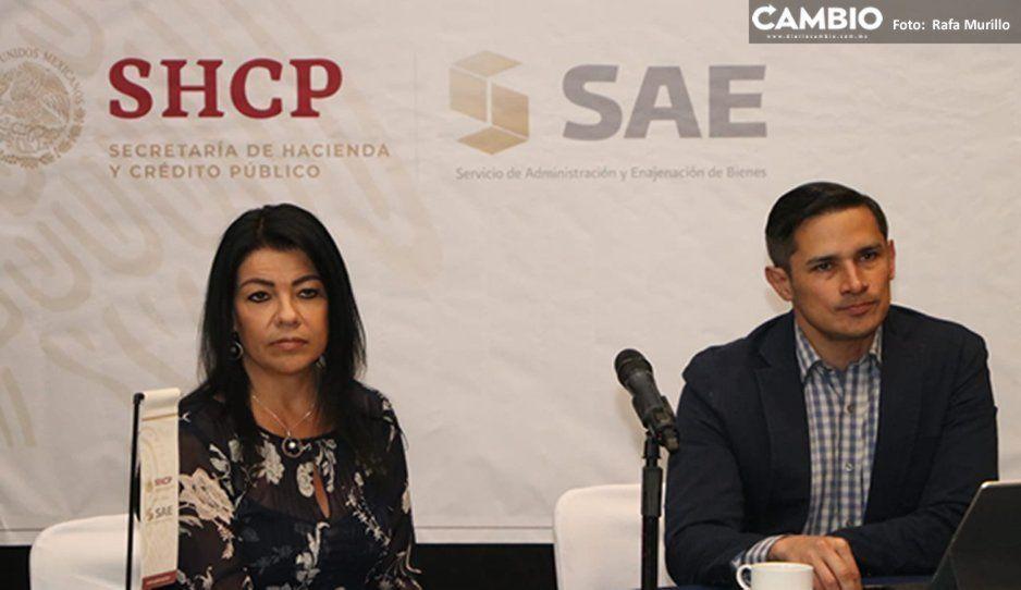 ¡Prepárate! SAE subastará más de 390 millones de pesos en bienes muebles e inmuebles el 22 de marzo