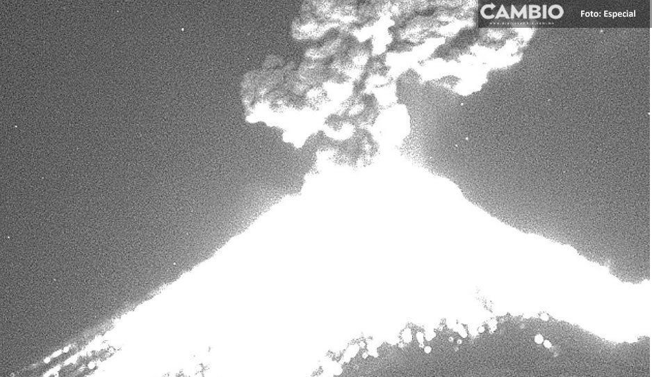 Explosión del Popocatépetl causó pánico entre los cholultecas