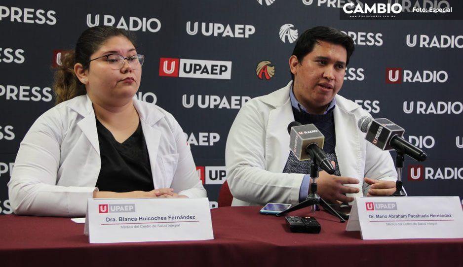 En lo que va del año se han reportado 17 mil casos de enfermedades respiratorias: médicos UPAEP