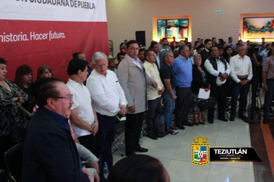 Carlos Peredo Recibe Foro para la integración de la Ley de Participación Ciudadana en Teziutlán