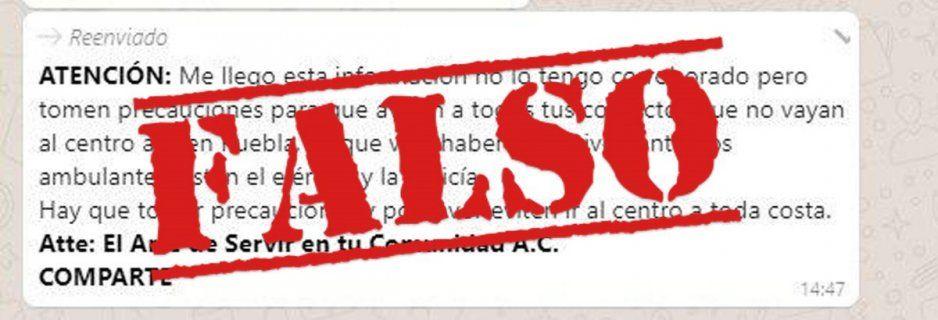Niega Ayuntamiento operativos para echar a ambulantes del Centro: son cadenas de WhatsApp para crear pánico