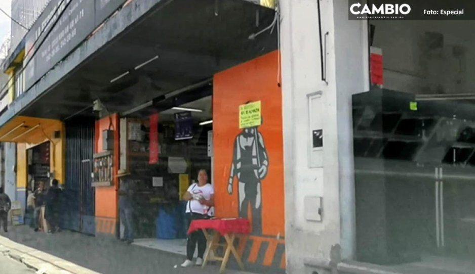 Ni 24 horas pasaron para que regresaran los puestos de celulares robados a la 8 Poniente