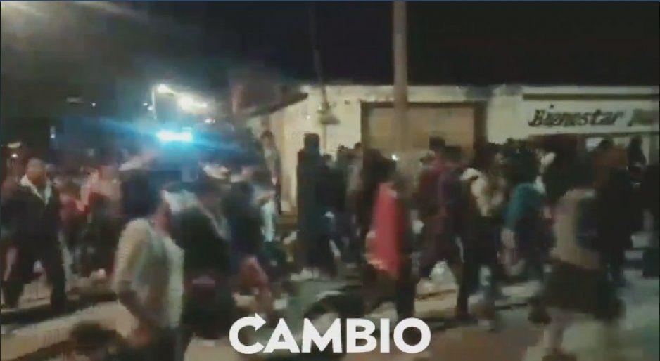 Planilla Círculo Morado amenaza con tomar presidencia de San Miguel Espejo, no aceptan resultados de elección de inspector (VIDEO)