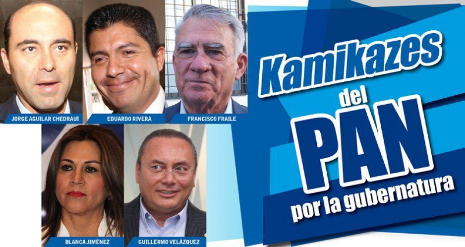 Lalo, JACH, Tigre, Blanca y Fraile, los kamikazes del PAN