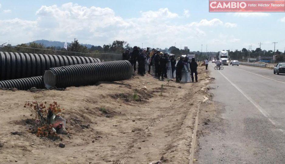 Juez de distrito suspende obra del colector sanitario y pluvial de Huejotzingo