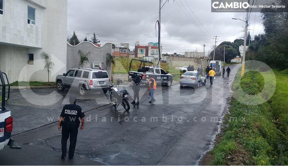 Ejecutan a hombre dentro de su vehículo en Texmelucan