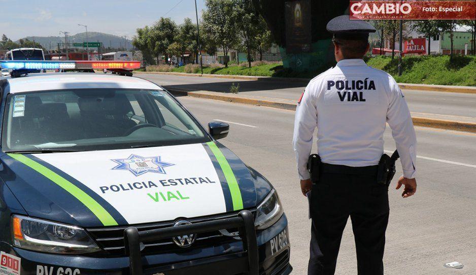 Policías estatales se debaten entre la vida y la muerte por accidente automovilístico